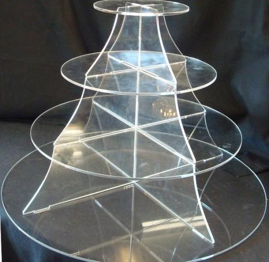 Rak Display Akrilik Model Cemara