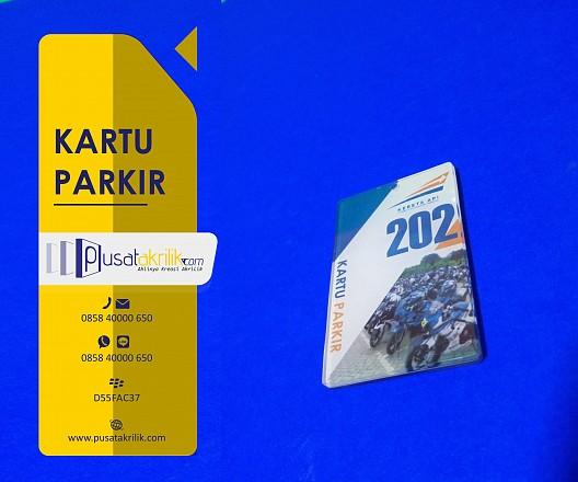 Kartu Parkir Akrilik