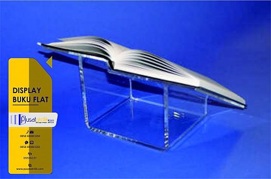 Display Buku Flat